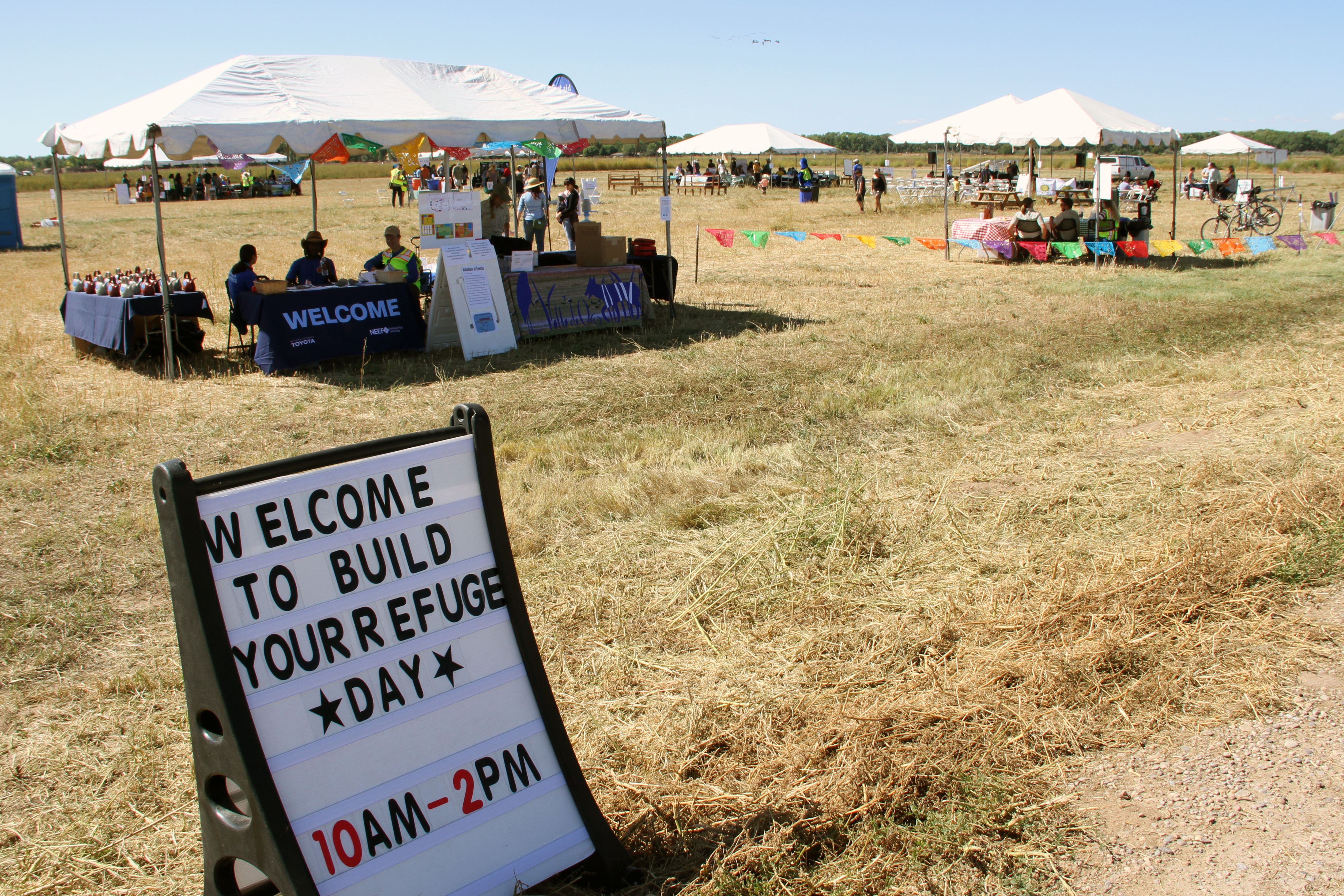 Build your refuge day Valle de Oro NWR