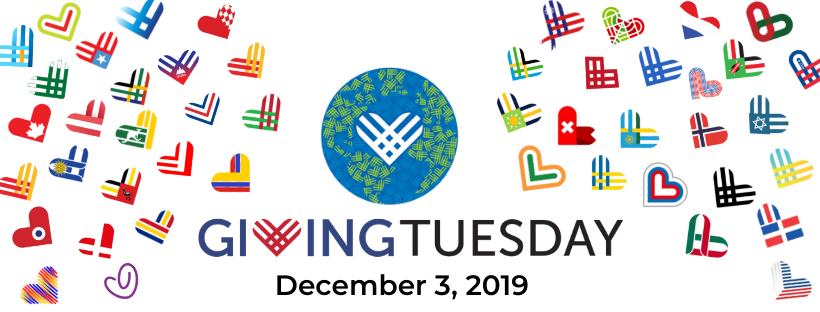 Giving Tuesday Global hearts 2019