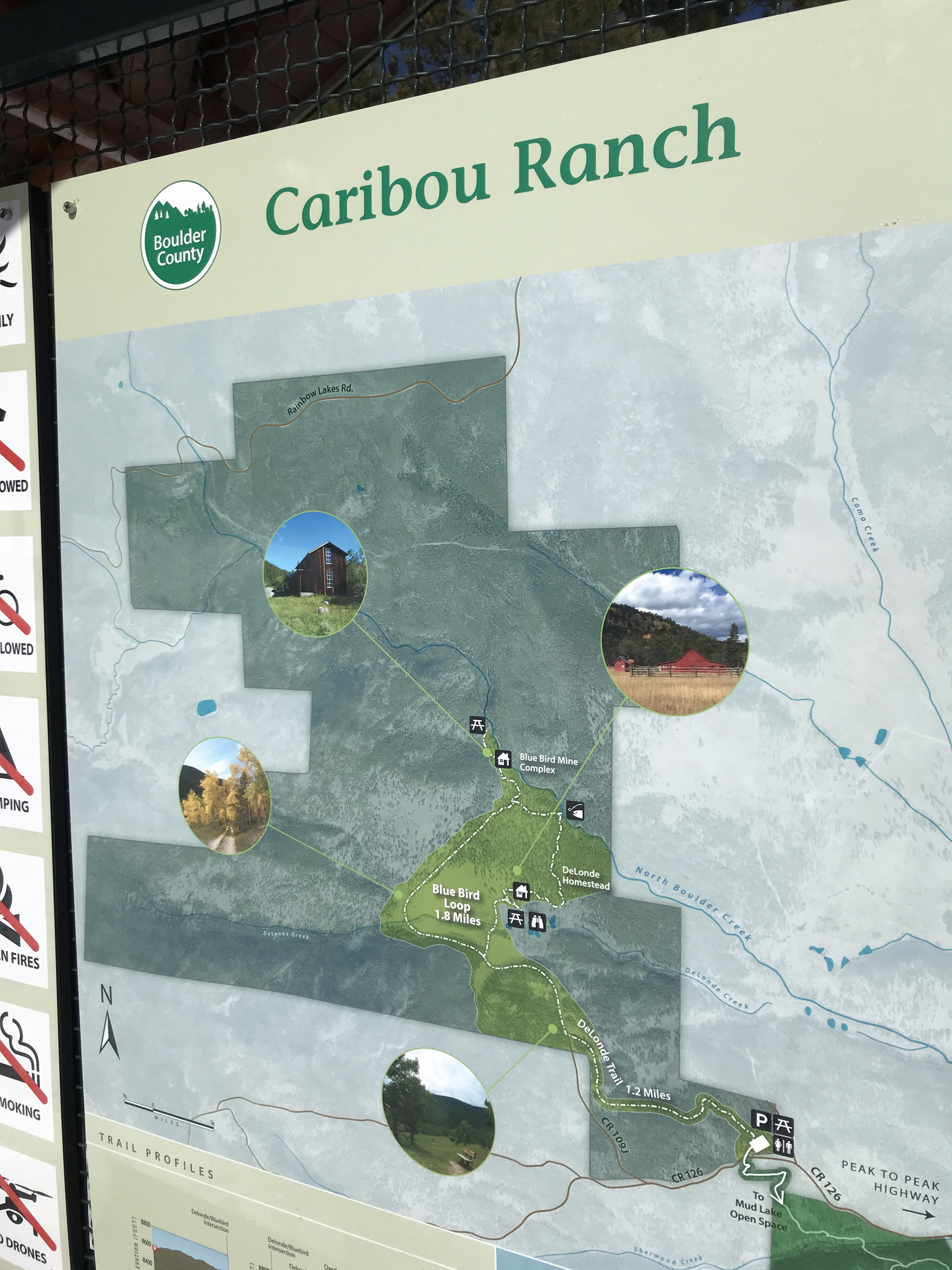Caribou ranch map