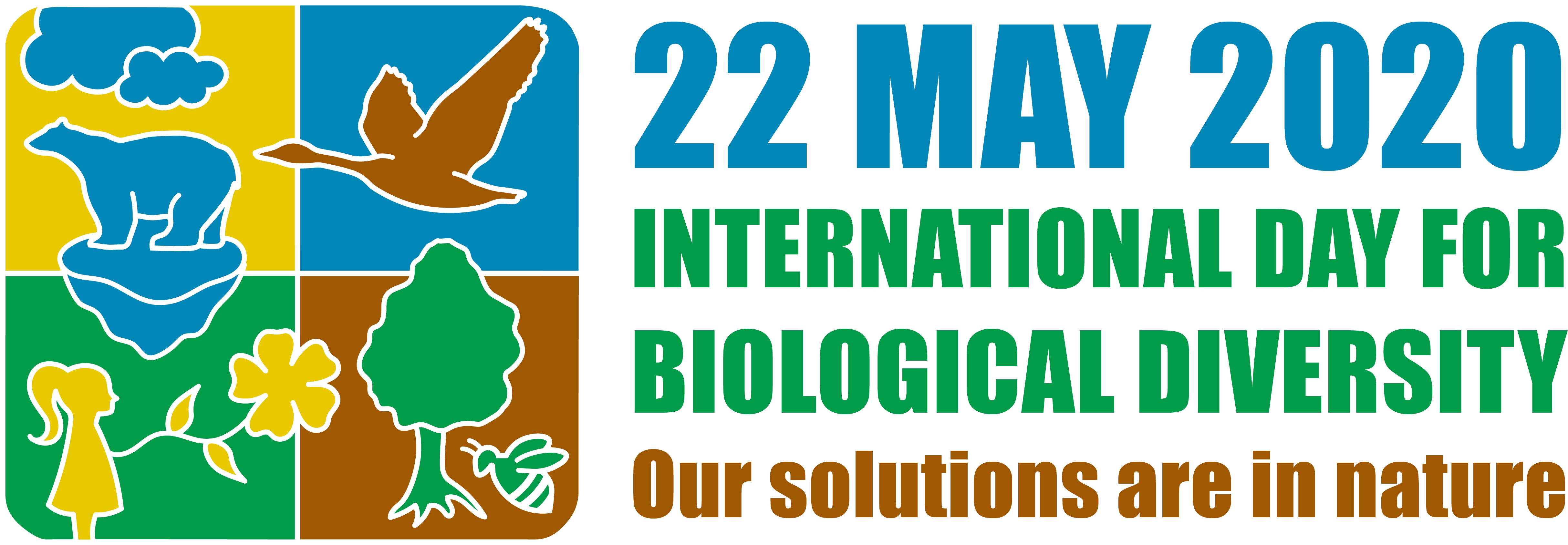 International Day for Biological Diversity 2020 logo