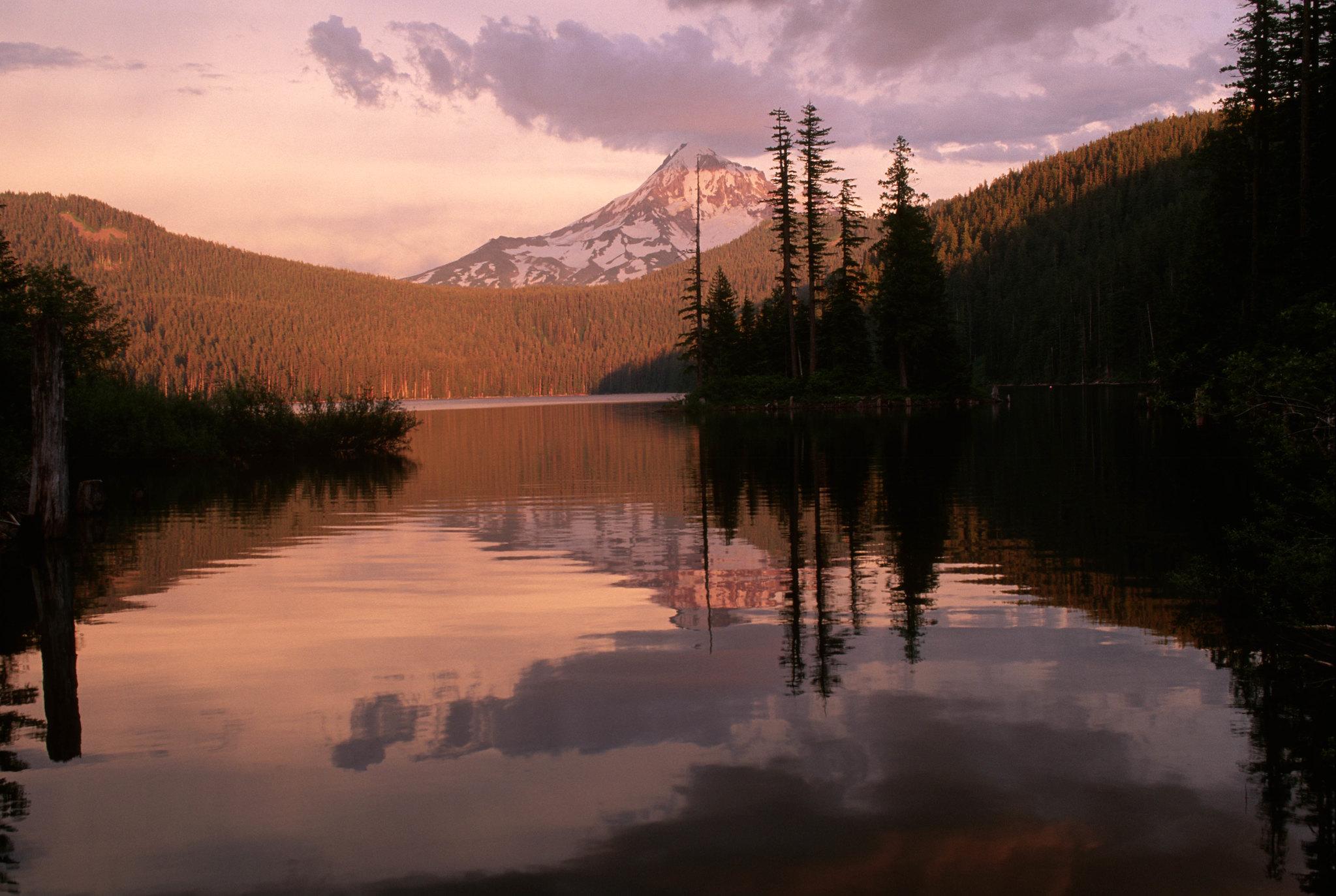 Mt Hood National Forest, Bull Run Lake