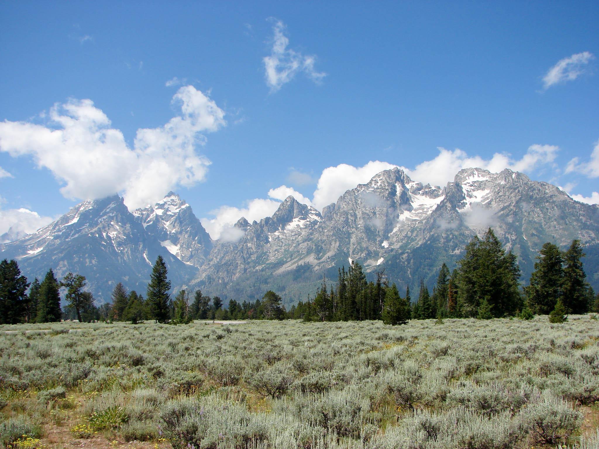 Mountains of Bridger-Teton National Forest
