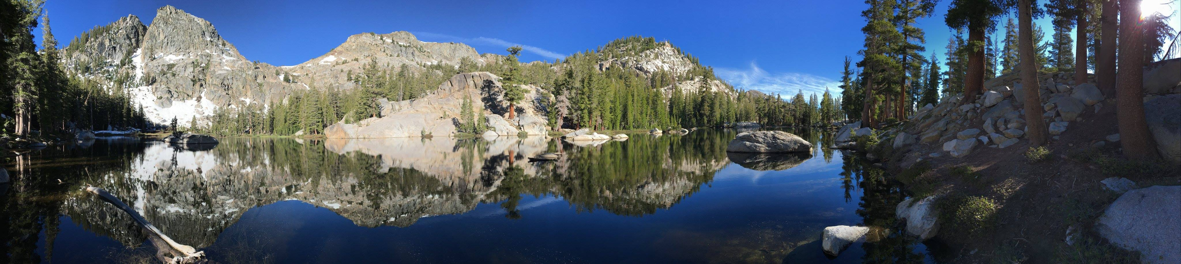 Lake George in Sierra National Forest