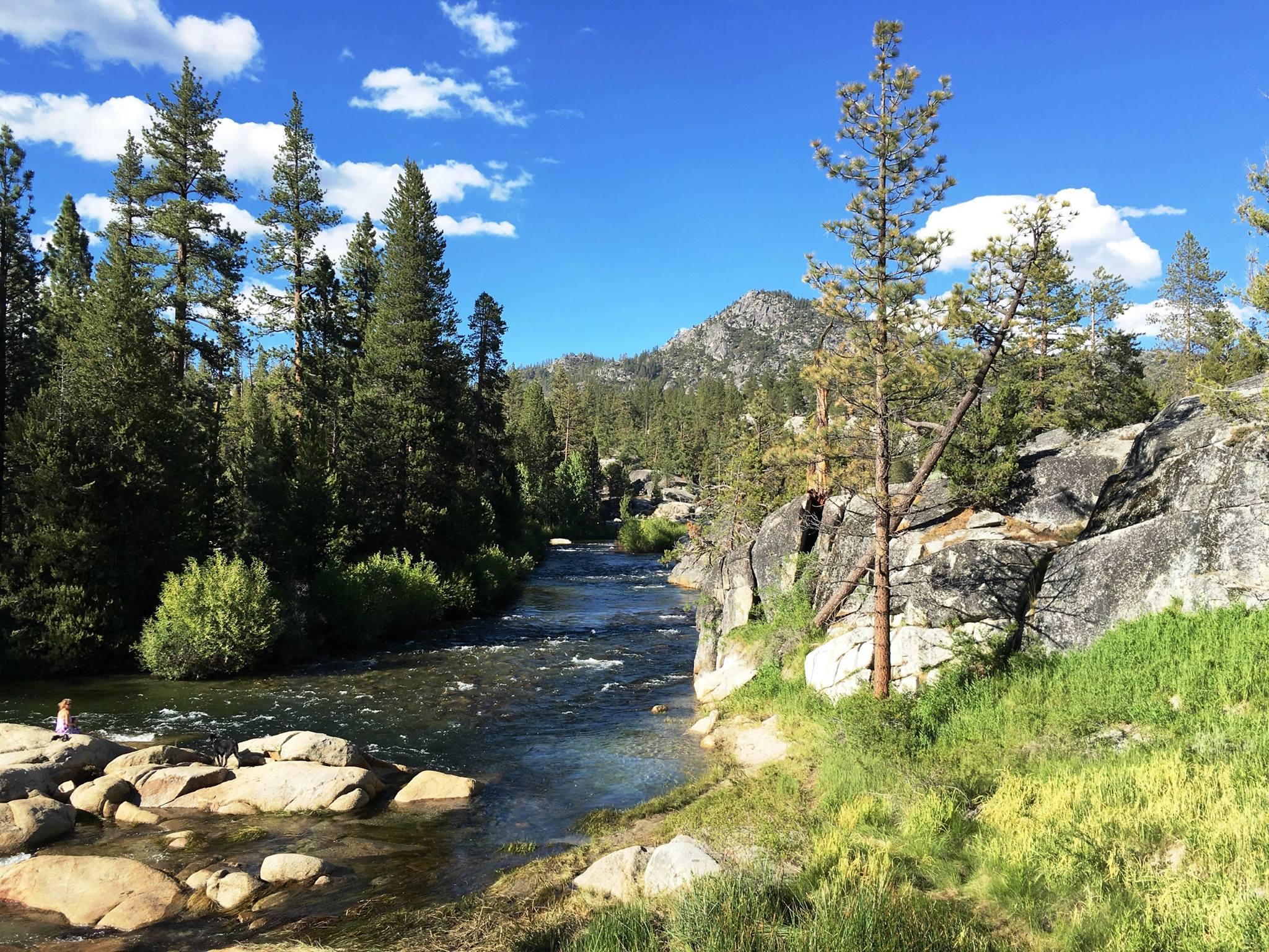 San Joaquin River in Sierra NF