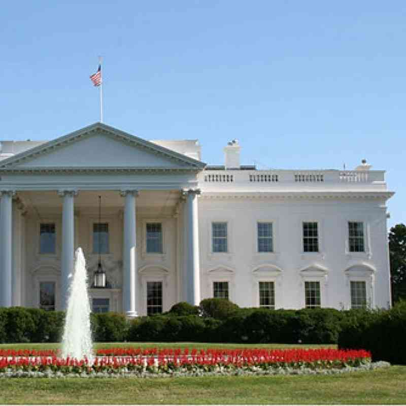 Photo of the White House in Washington, DC