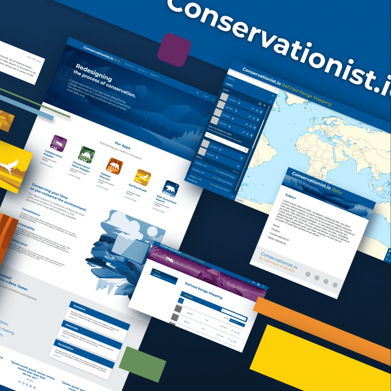 Conservationist.io promotion